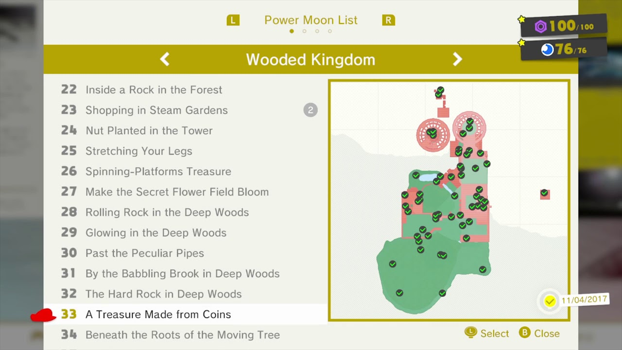 Moon Power Map