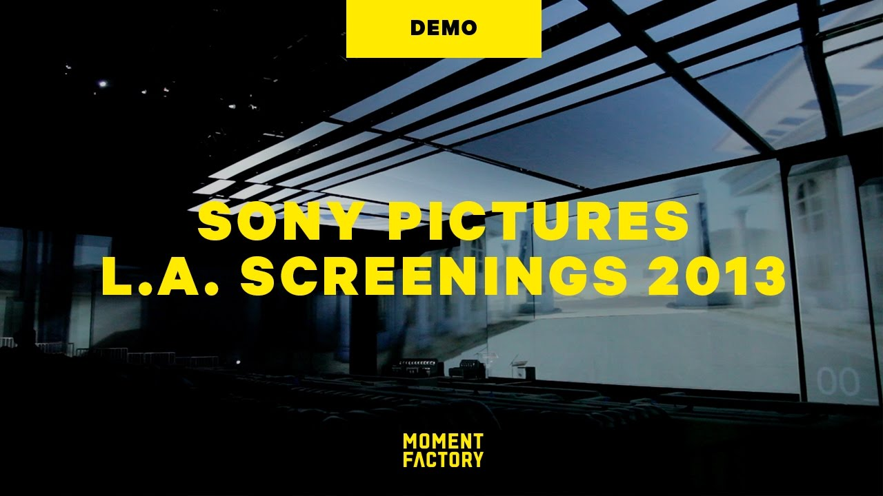 L.A. Screenings 2013, Sony Pictures Television: An Immersive Movie Experience [DEMO]