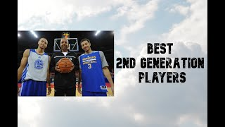 Best Second Generation Nba Players Ever