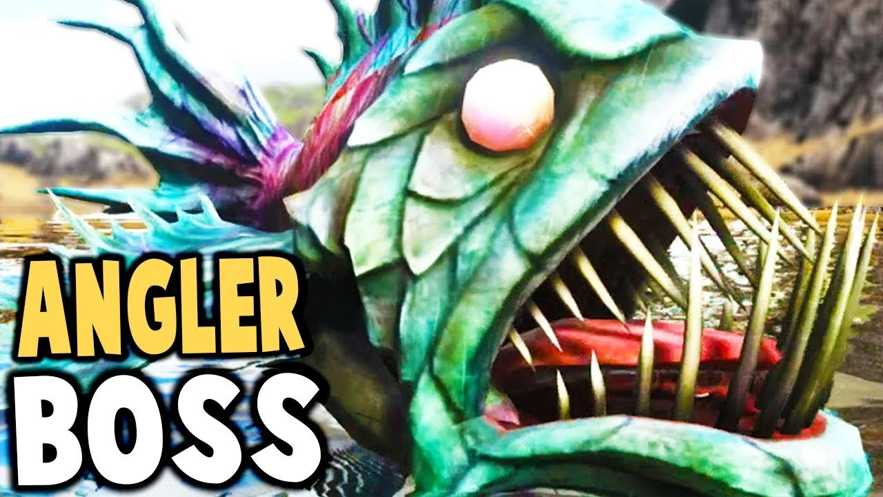 Ark survival evolved new angler fish boss insane for Angler fish ark
