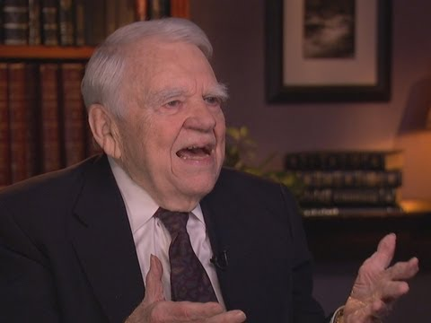 The one and only Andy Rooney