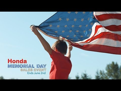 2019 Honda Memorial Day Sales Event at Your North Country Honda Dealers
