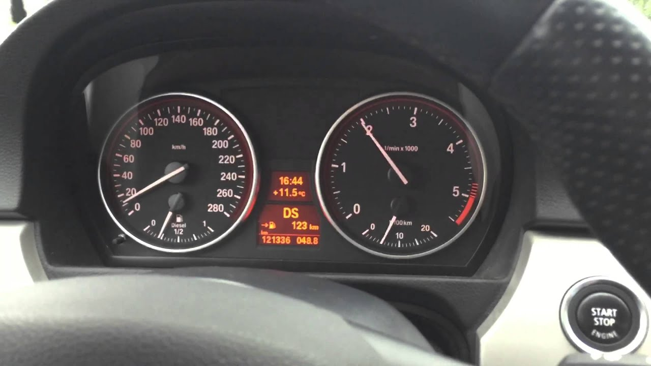 Bmw 335d 286 Hp 0 100 Youtube