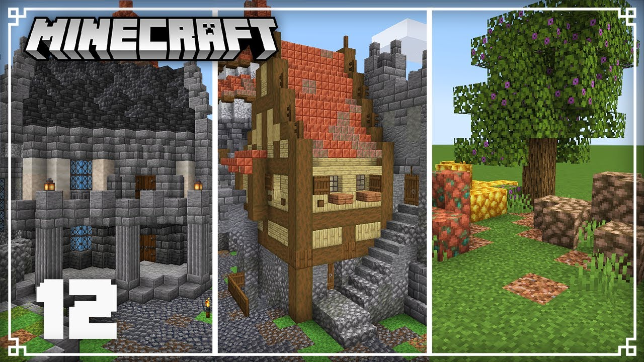 Building Houses & New Blocks!   Minecraft 1.17 Survival Lets Play