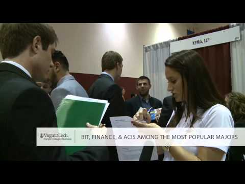 Virginia Tech Pamplin College of Business - Business Horizons Career Fair