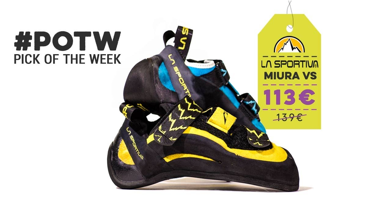 a949c017922 Pick Of The Week  La Sportiva Miura VS - YouTube
