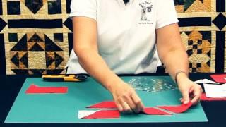 Pravítko na patchwork COTTAGE RULER 5,5x8 inch video