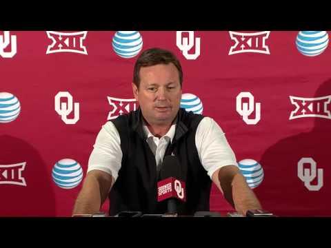 OU Football: Bob Stoops press conference