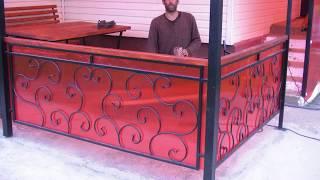 видео Беседки для дачи из поликарбоната и металла своими руками — фото