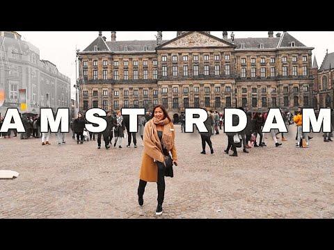 SHOPPING IN AMSTERDAM, the Netherlands  ||Vlogmas ep.7 |Alissa C