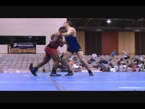 Robert Barbour dec. Clete Hanson, 85 kg finals at 2009 FILA Junior Nationals in Greco-Roman