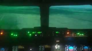 Кадры жуткой аварии в самолёте!!