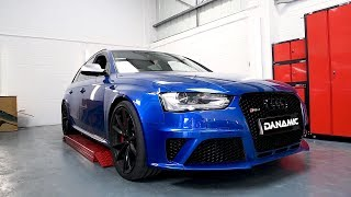 Audi RS4 B8 Avant w/ ARMYTRIX Valvetronic Exhaust by Dynamic Modifications!