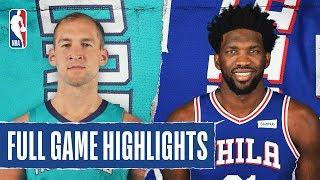 HORNETS at 76ERS | FULL GAME HIGHLIGHTS | November 10, 2019