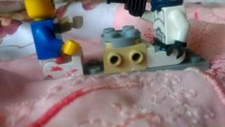 Заброшенный игровой замок часть 1 лего анимация