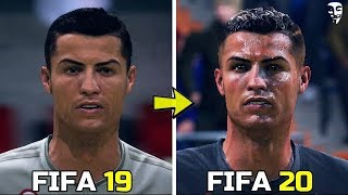 FIFA 20 - New Face Added - ( Ronaldo, Reus, Pogba )