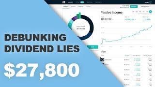 Debunking Dividend Lies, M1 Finance $27,800 portfolio | Ep. 2