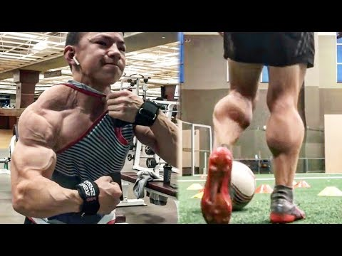 World's Youngest Bodybuilder Kid With The Most Muscle - Crazy Gym Workout Monster
