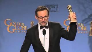 Christian Slater: Golden Globe Awards Backstage Interview (2016)