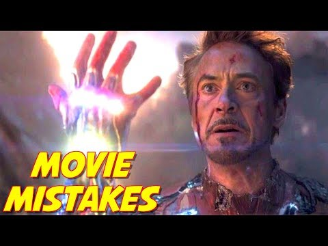 Avengers Endgame Mistakes | Movie Mistakes in Avengers | Ironman R.I.P.