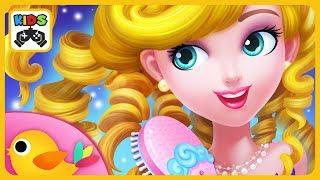 Sweet Princess Hair Salon by Libii * Create custom looks for the royal Sweeties screenshot 1