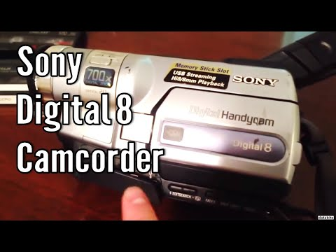 Sony Handycam Digital 8 Hi8 8mm DCR-TRV350 Review