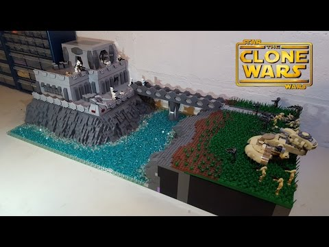 Huge lego star wars the clone wars droid base on ithor moc build - Lego star wars base droide ...