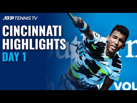 Murray Masters Tiafoe; Shapovalov Storms Past Cilic | Cincinnati 2020 Day 1 Highlights