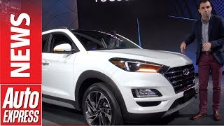 New-look Hyundai Tucson revealed in New York - mid-sized SUV gets a facelift