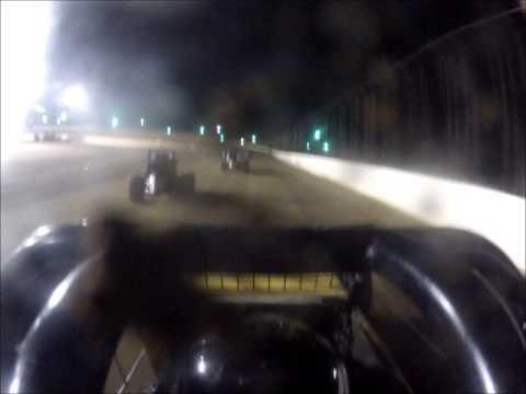 Matt Humphrey- On Board Heat Race at Clay County Speedway 9-27-14