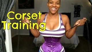 Repeat youtube video Corset Training: Belly Shot After 15 Straight Hours
