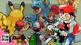 Red Reacts to Red and Ash Vs Gary And Blue Pokémon Battle