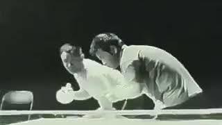 Уникальное видео, когда Брюс Ли нунчаками играет в тенис