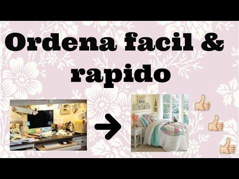 Como ordenar tu cuarto fácil y rápido | Ordena tu habitación | Tips ...