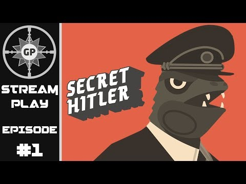 Is Greyshot117 Evil? - Secret Hitler - Greyshot Productions Live Stream