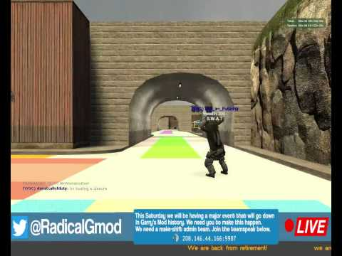 Hacker Squad Attacks GMOD Server. (BEST HACKS EVER)