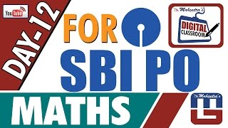 AVERAGE | MATHS | DAY - 12 | DIGITAL CLASS | SBI PO 2017 |