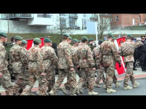 Hjemkomstparade for ISAF 14