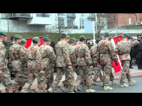 Hjemkomstparade For ISAF 14