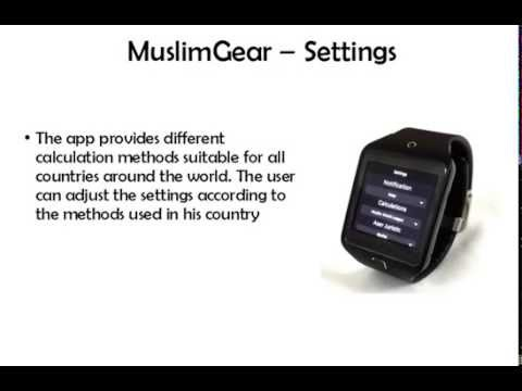 MuslimGear | Samsung Gear App Challenge