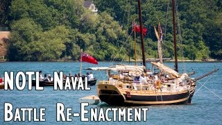 Naval Battle Re-Enactment in Niagara-on-the-Lake 2012