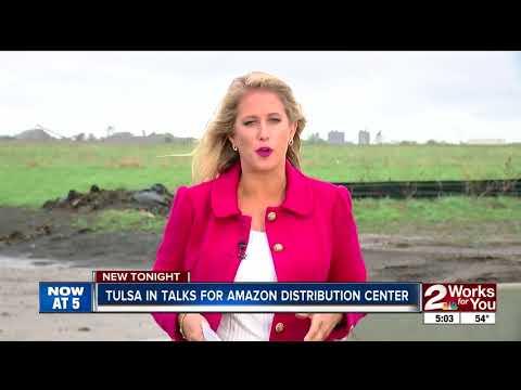 Tulsa trying for next Amazon fulfillment center
