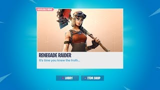 The TRUTH About RENEGADE RAIDER! Is it coming BACK to the ITEM SHOP?! (Season 8 Renegade Raider)