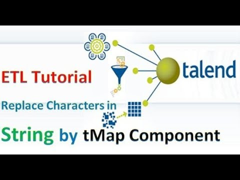 Talend ETL - How To Remove Special Characters In The String