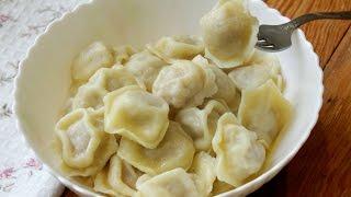 Пельмени домашние рецепт/Тесто для пельменей