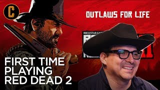 "First Time Playing Red Dead Redemption 2 with Westerns Superfan John ""The Outlaw"" Rocha"