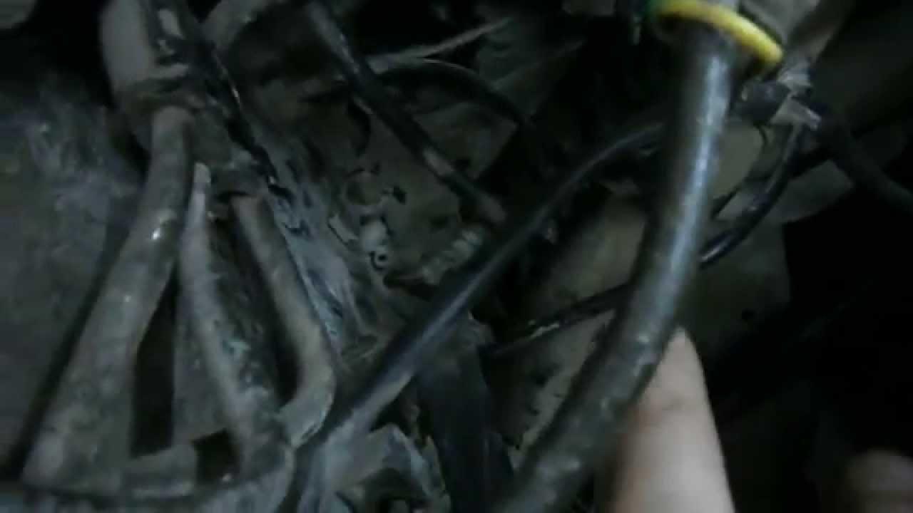 Audi S-6 (C-4) - Замена рулевой рейки.