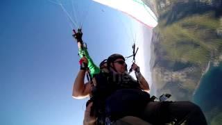 Tandem paragliding crash