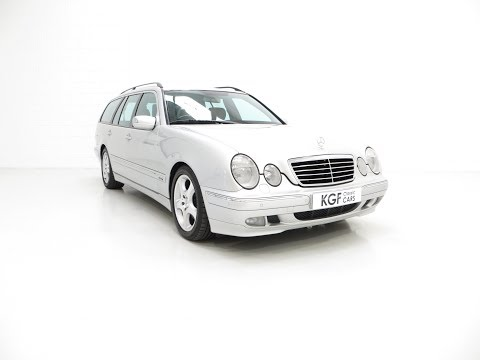 A Fully-Loaded Mercedes-Benz E320 CDI Avantgarde Estate with One Owner - SOLD!