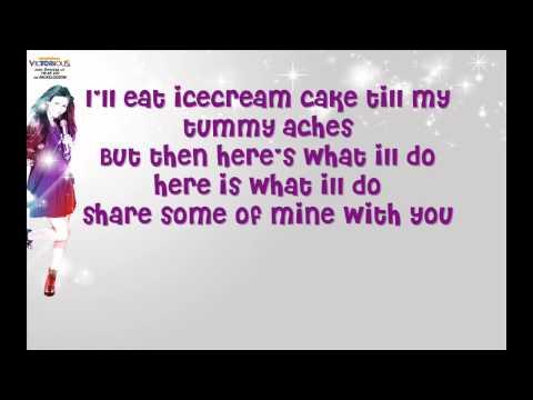 Victorious-Favourite Food Lyrics